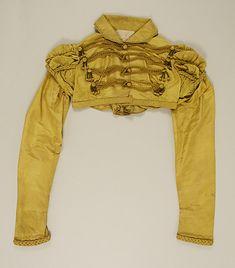 Spencer 1815, British, Made of silk (Gothic Regency)
