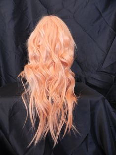 Trendy hair color unique pastel awesome – My CMS Peach Hair Colors, Pink Hair, Pastel Orange Hair, Pastel Pink, Pastel Blonde, Blue Hair, Hair Colorful, Rides Front, Strawberry Blonde Hair