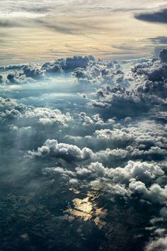 ~~Cloudy Sky ~ Taken just after taking off from Surabaya, East Jawa Airport, Lamongan, East Java, Indonesia by Herry Photos~~ Beautiful Sky, Beautiful World, Beautiful Places, Above The Clouds, Sky And Clouds, White Clouds, Landscape Photography, Nature Photography, Landscape Pics