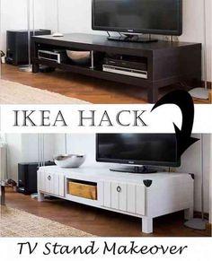 meuble TV Ikea à faire soi-même