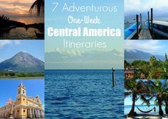 7 Adventurous One-Week Central America