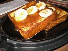Ihop's Banana Caramel French Toast- recipe from tidymom.net
