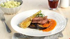 Oppskrifter - Diabetesforbundet Scampi, Fajitas, Beef, Food, Chili Con Carne, Meal, Essen, Hoods, Ox