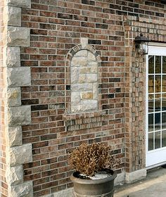 Home Design Brick Stone house design room design