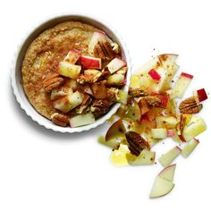 Baked Oatmeal with Apples and Pecans http://www.rodalewellness.com/food/flat-belly-breakfast-recipes/slide/18