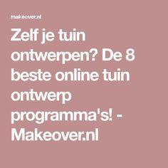 Zelf je tuin ontwerpen? De 8 beste online tuin ontwerp programma's! - Makeover.nl