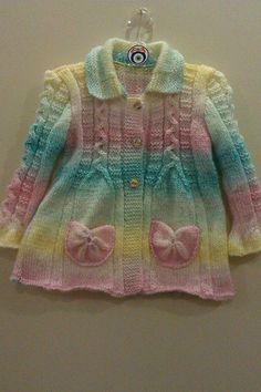El örgüsü kız çocuk hırka [] #<br/> # #Amelie,<br/> # #Tissue,<br/> # #Pastel #Colors,<br/> # #Babe<br/>