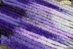 Triple Transitional Purple Crochet Synthetic by blacksunshineiow