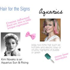 """""""Hair for the Signs Aquarius"""" by expressingyourtruth on Polyvore"""