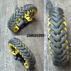 "Reposting @zamgacord: ... ""Modified Skeleton #paracordlife #paracordgear #tacticalbracelet #outdoorgear #adventuregear"