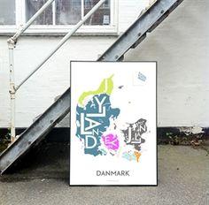 Plakat over Danmark - Kortkartellet