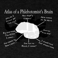 Phlebotomy humor tshirt