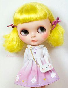 Blythe doll lolita bunny style