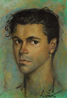 Leonor Fini Cesare Pavani. 1948 г.