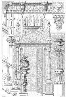 Curvilinear Designs. A Victorian Sourcebook