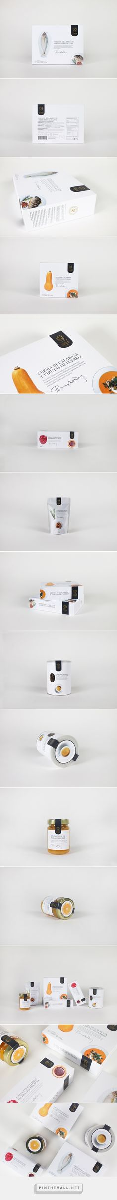 Sybaris Gourmet (Student Project) - Packaging of the World - Creative Package Design Gallery - http://www.packagingoftheworld.com/2016/07/sybaris-gourmet-student-project.html