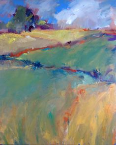 Image result for abstract landscape painting