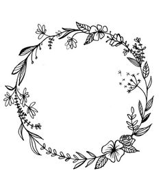 Floral wreath Floral wreath The post flower wreath appeared first on Blumen ideen. Tribal Tattoo Designs, Japanese Tattoo Designs, Flower Tattoo Designs, Flower Tattoos, Tattoo Floral, Circle Tattoos, Tattoo Ideas Flower, Circle Tattoo Design, Family Tattoo Designs