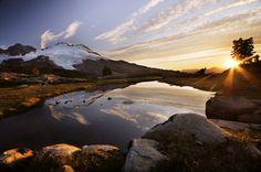 Sunrise at Park Butte — Washington Trails Association