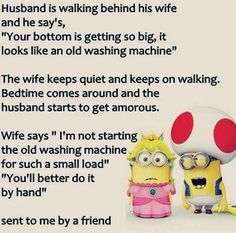 ...like an old washing machine...