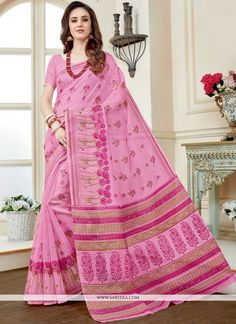 Buy online latest designer wedding sarees. Order this customary cotton   casual saree for casual. - Saree
