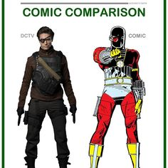 • Deadshot - Comic Comparison • Deadshot was a great character in both Arrow season 1 & 2 with a very practical suit that isn't super accurate, but I think it fit perfectly into the grittiness the show. What do you think? Leave your opinion below. ______________________________________________ #DCTV #TheFlash #Supergirl #Arrow #LegendsOfTomorrow #GreenArrow #BlackCanary #Speedy #Arsenal #WildDog #Ragman #MrTerrific #Artemis #DarkArcher #Deathstroke