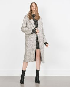 COAT WITH LAPELS - View all - Outerwear - WOMAN | ZARA United Kingdom