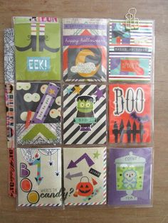 Halloween Pocket Letter