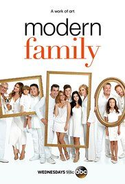 Modern Family (ABC-May 10, 2017) a comedy TV series created by Steven Levitan, Christopher Lloyd. Three different, but related families face trials and tribulations in their own uniquely comedic ways. Stars: Ed O'Neill, Sofía Vergara, Julie Bowen, Steven Levitan, Ed O'Neill, Ty Burrell, Jesse Tyler Ferguson.