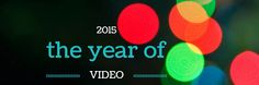 2015 will be the year of video Creative Writing, Writing Tips, Copywriting, Step By Step Instructions, Helpful Hints, Digital Marketing, Tech, Social Media, Facebook