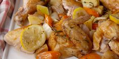 This easy hack results in a perfect roast chicken, and the veggies to go along with it! Roast Chicken Recipes, Turkey Recipes, Recipe Chicken, Roasted Chicken, Perfect Roast Chicken, Cooking Recipes, Healthy Recipes, Meal Recipes, Healthy Meals