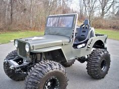 1946 Willys CJ-2A, one day our 1947 will look this good