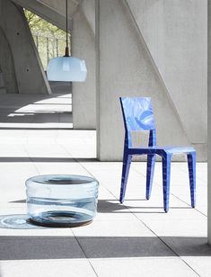 azure blue transparent