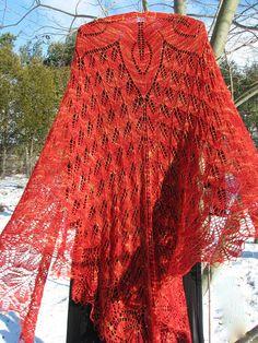 rosemary hill shawl