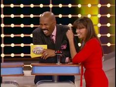 Family Feud host Steve Harvey almost walks off...What Get's Passed Around? - YouTube