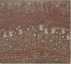 'Coastline': Marina Strocchi: 2009: Australia: acrylic on linen:180 x 200cm