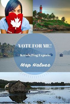I've been accepted as a late contestant to the competition to win this press trip as part of the Kerala Blogger Express Season 3. It sounds like a lifetime and I would love, love to go. If you can take a few seconds and vote for me, that would be amazeballs!
