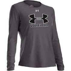 Under Armour Women's Volleyball Long Sleeve Tech T-Shirt