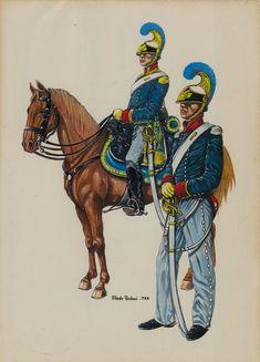 """Regio Esercito - I """"LANCIERI DI NOVARA"""" FORMATI CON IL NOME DI """"DRAGONI DI PIEMONTE"""" IL 24 DICEMBRE 1828"""