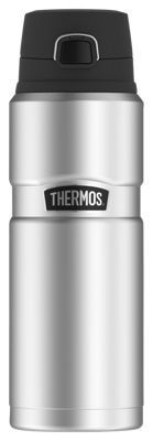 Thermos Stainless King Vacuum Insulated Leak-Proof Bottle - Stainless Steel - 24 oz