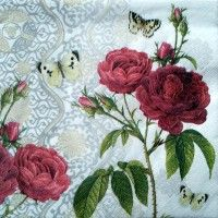 Servítka - Ruže