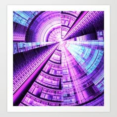 """Paint the future - maake it bright."" #society6 #fractal #digital"