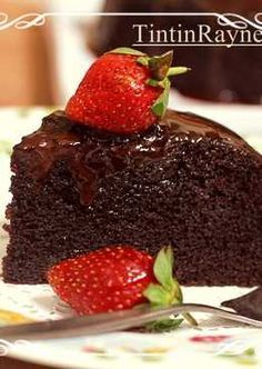 Super Moist Steamed Chocolate Cake Juara NO mixer NO oven