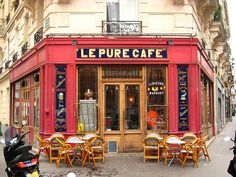 Image result for le pure cafe paris before sunset