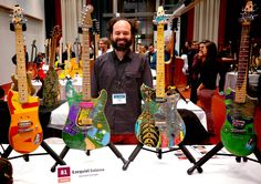 """ECHOES from HGGS 2015: """"For me, the HGGS is the opportunity to meet guitar makers from all over the world who are deeply committed to what they do, and who dedicate their lives to this discipline with true passion, making a lifestyle out of it which I feel part of, and want to keep evolving."""" - EZEQUIEL GALASSO, Galasso Guitars, Argentina"""