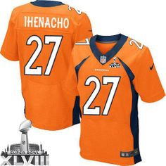 Duke Ihenacho Elite Jersey-80%OFF Nike Duke Ihenacho Elite Jersey at Broncos Shop. (Elite Nike Men's Duke Ihenacho Orange Super Bowl XLVIII Jersey) Denver Broncos Home #33 NFL Easy Returns.
