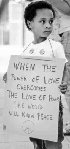"""When the power of Love…"" ~ Jimi Hendrix • photo via: 143SimpsonXD on Flickr"