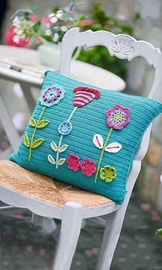 Watch This Video Beauteous Finished Make Crochet Look Like Knitting (the Waistcoat Stitch) Ideas. Amazing Make Crochet Look Like Knitting (the Waistcoat Stitch) Ideas. Crochet Cushion Pattern, Crochet Cushion Cover, Crochet Cushions, Crochet Patterns, Knitting Patterns, Crochet Pillow Covers, Applique Cushions, Crochet Blocks, Blanket Patterns