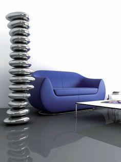 Radiateur design ROCKANDROLL par Karim RASHID