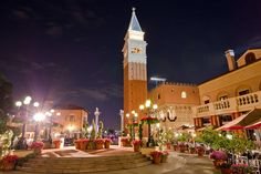 Italy Pavilion in Epcot
